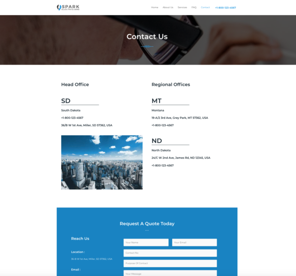#1 Delightful Electrician Business Services Theme