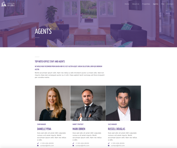#1 Exclusive Real Estate Business Theme