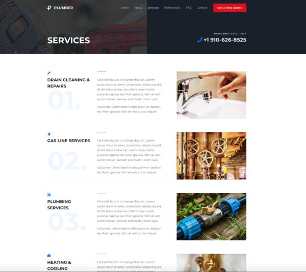 #1 Genius Plumber Business Service Theme