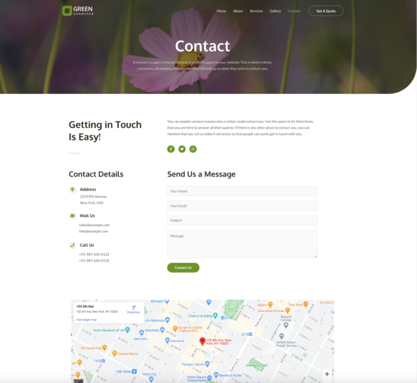 #1 Spectacular Gardening Landscaping Services Theme
