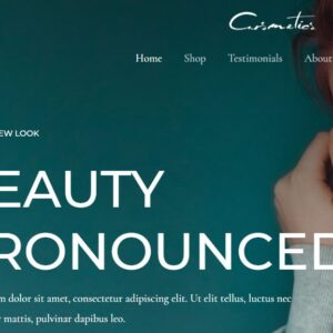 Completely Dreamy Cosmetics Store Exclusive eCommerce Theme