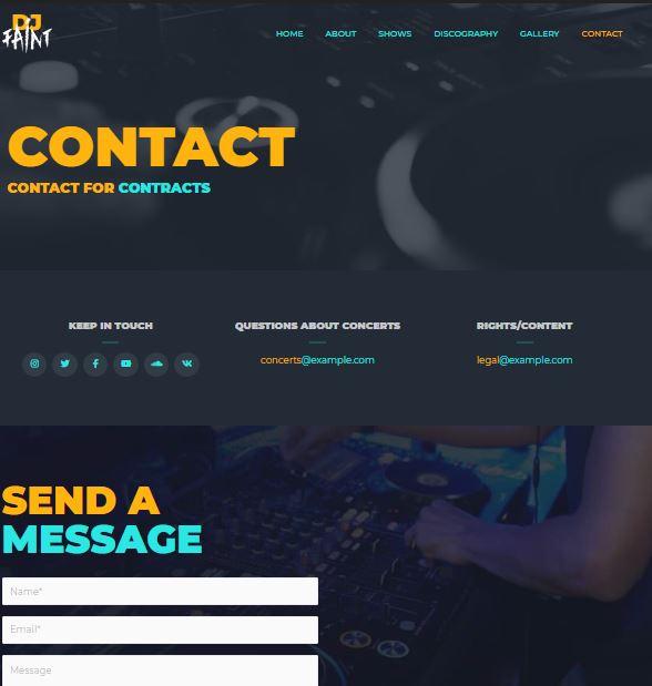 DJ Contact