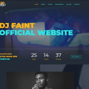 Incredible Disc Jockey Powerful eCommerce Theme
