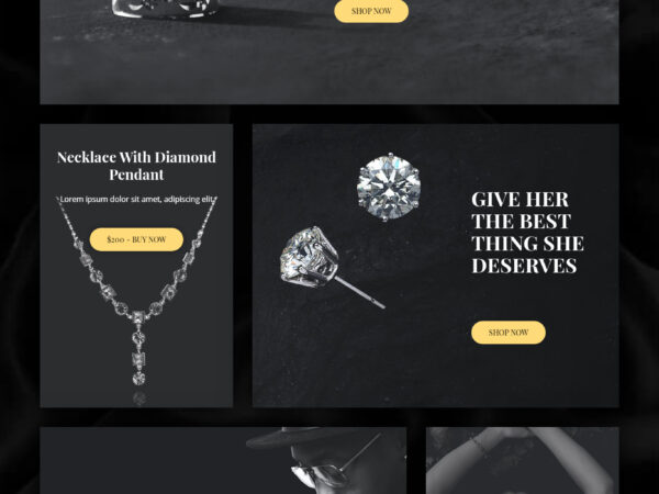 Brilliant Custom Jewelry Highly Effective eCommerce Theme