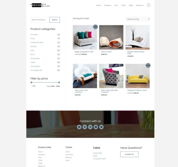 #1 Luxury Furniture Store eCommerce Theme