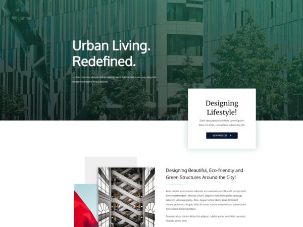 #1 Superb Urban Construction Business Theme