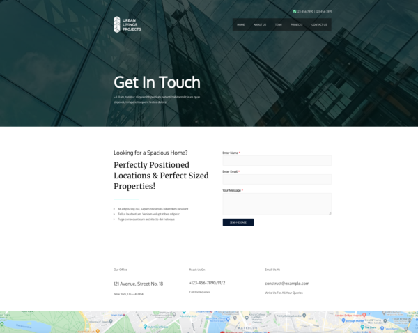 #1 Superb Urban Construction Business Theme