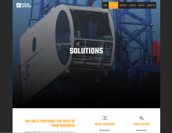 #1 Unlimited Manufacturing Business Theme
