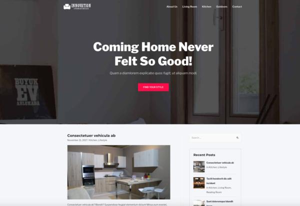 #1 High Tech Home Decor Business Theme