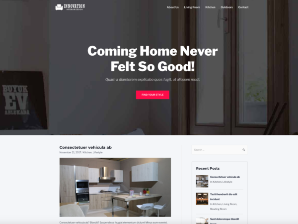 #1 High Tech Home Decor Business Theme