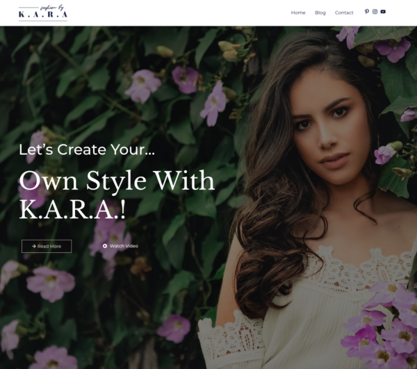 #1 Sunny Fashion Lifestyle Blog Theme