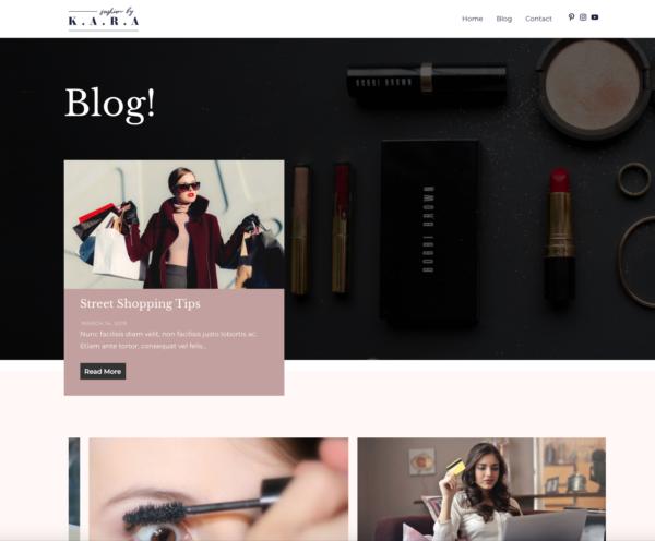 #1 Sunny Fashion Lifestyle Blog Theme