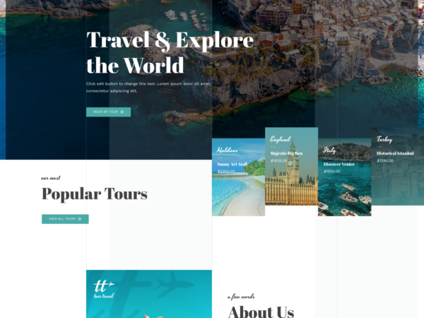 #1 Dreamy Travel Agency Business Theme