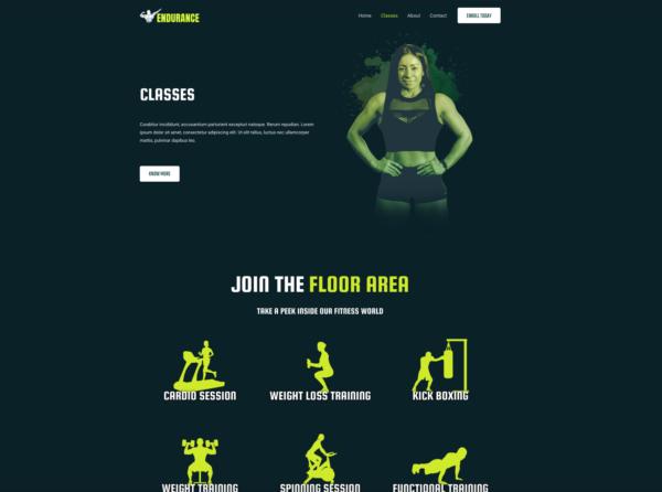 #1 Dreamy Gym Fitness Business Theme