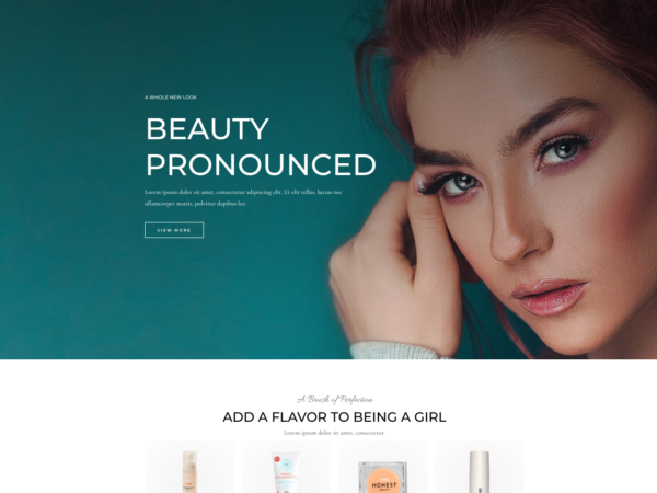 #1 Completely Dreamy Cosmetics Store Exclusive eCommerce Theme