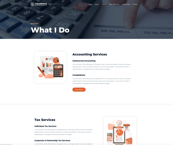 #1 Strongly Suggested Accountant Business Services Theme
