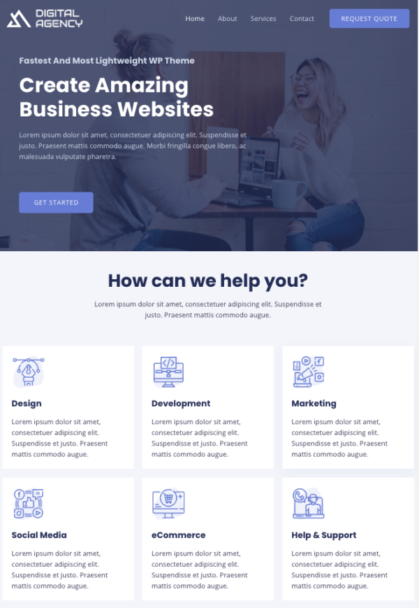 #1 Incredible Digital Agency Business Theme