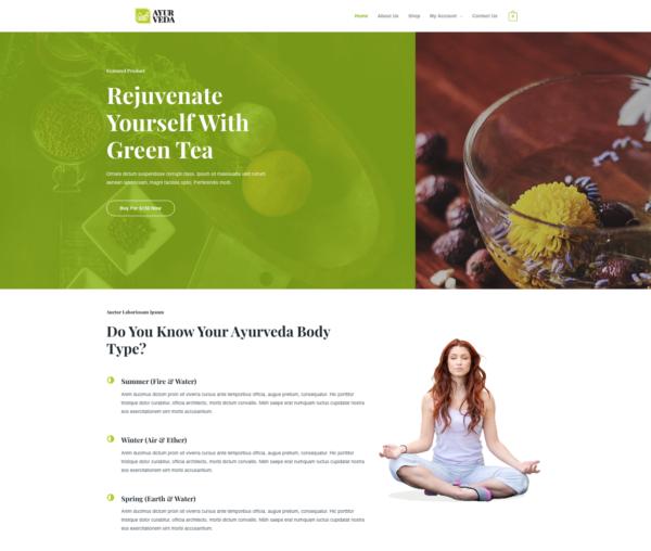 #1 Best-Selling Organic Tea eCommerce Theme