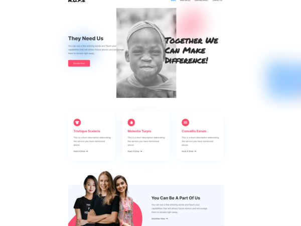 #1 Blessed Charity Pro Business Theme