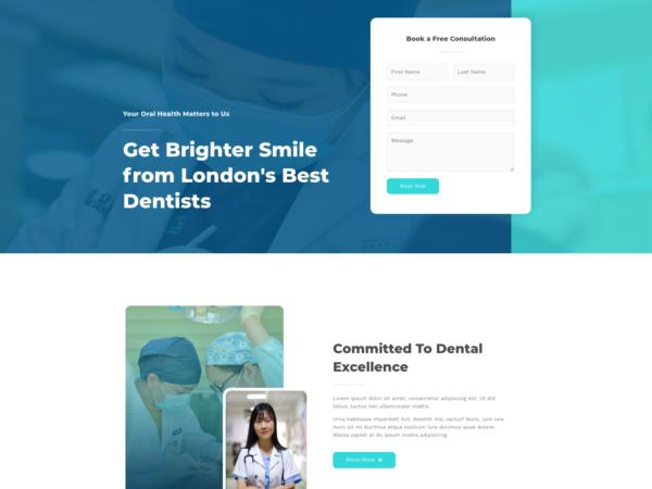 #1 Stunning Dentist Clinic Business Theme