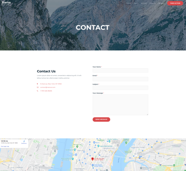 #1 Mesmerizing Sierra Nature Pro Business Theme