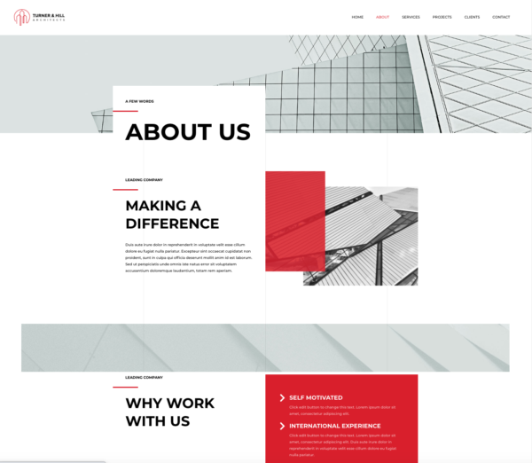 #1 Brazen Architecture Firm Business Theme