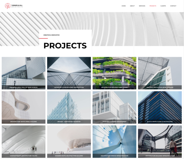 #1 Brazen Architecture Firm Business Theme