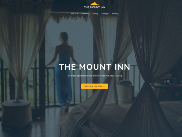 #1 Quality Hotel and BNB Business Theme