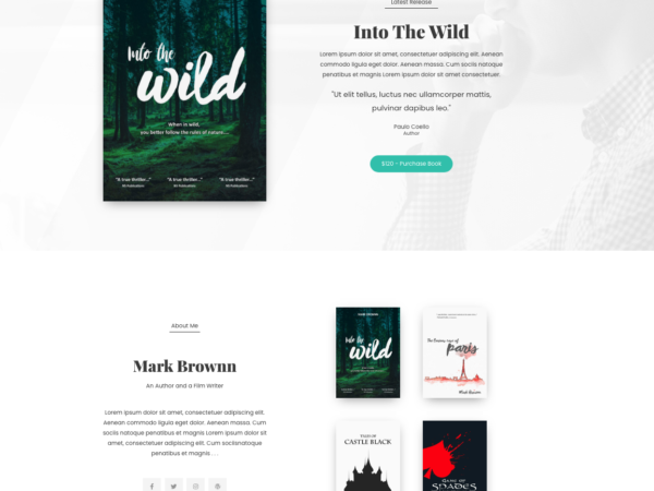 #1 Euphoric Author Services Theme