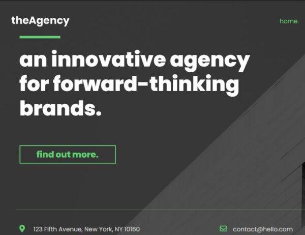 agency1 home