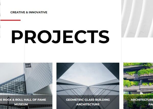 architect projects