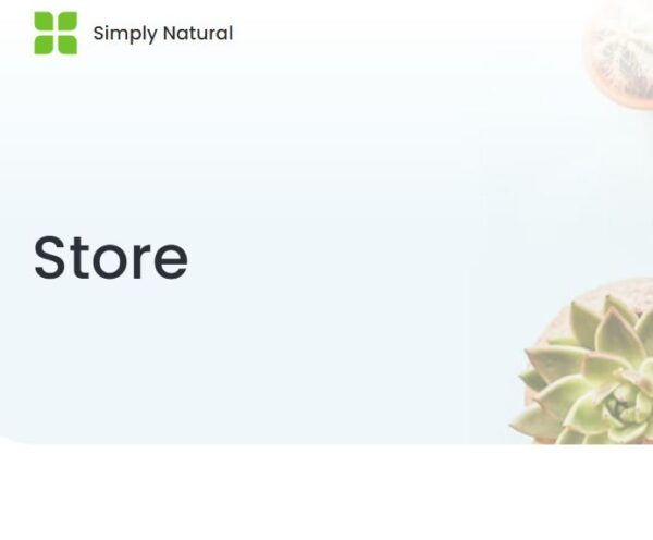 simply natural store