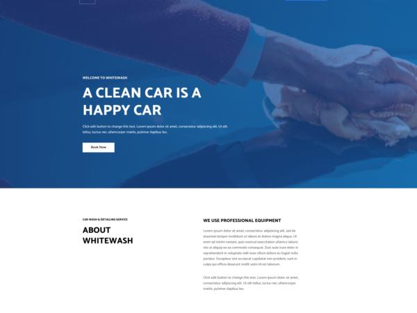 #1 On-Demand Car Wash Services Pro Business Theme