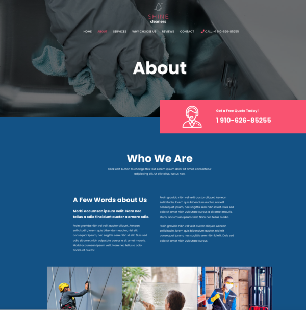#1 Eye-Opening Cleaning Services Pro Business Theme