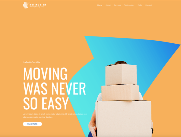 #1 Economical Gentle Fast Moving Services Pro Business Theme