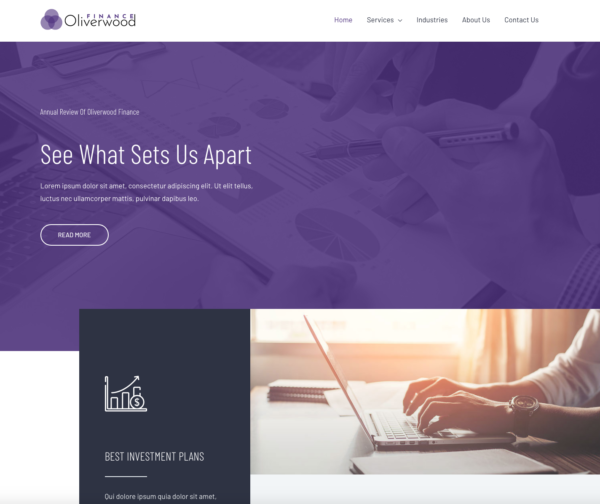 #1 Worthwhile Financial Advisors Pro Business Theme