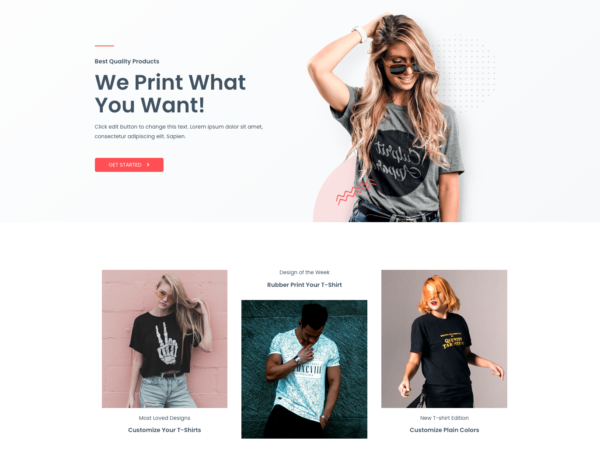 #1 Best Quality Custom Print eCommerce Theme