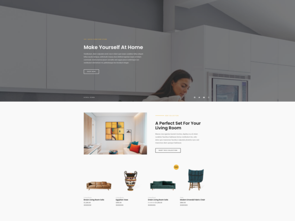 #1 Masterclass Online Furniture Store eCommerce Theme